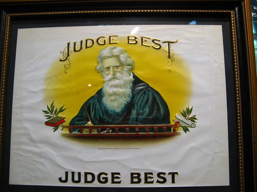 JUDGE BEST by Flickr user meormeor