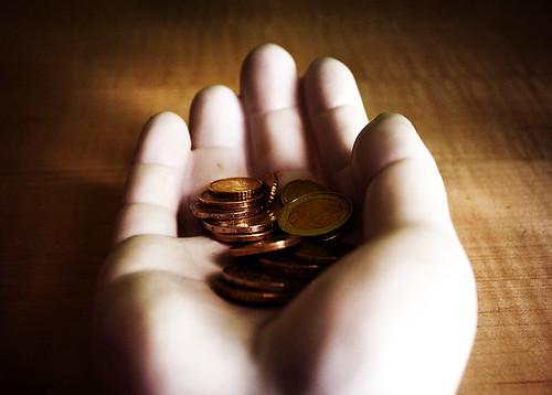 handful of euros