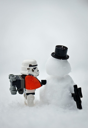 Sometimes, you just have to build a snowman