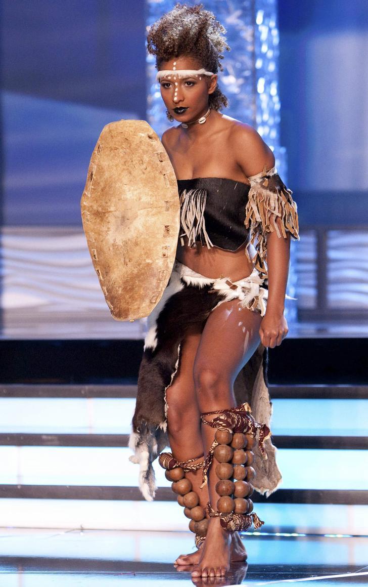 Traje Típico de Miss Zambia