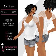 amber-white