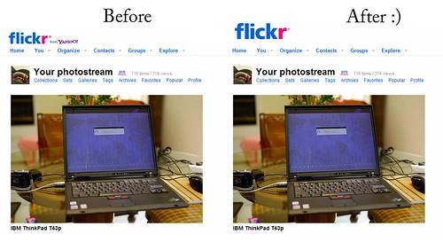 Old Flickr Logo Script