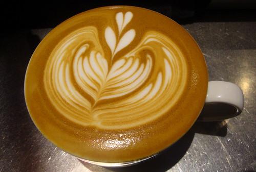 Nicelys amazing latte art