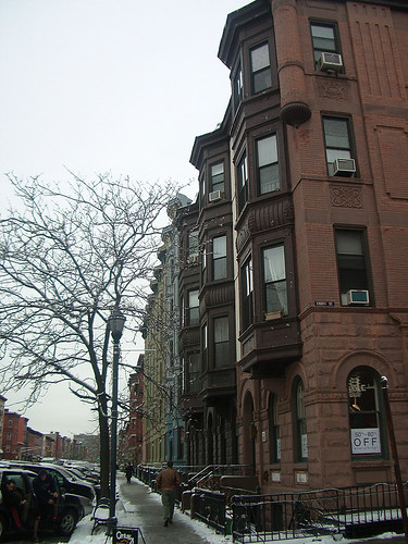 Calle Washington en Hoboken