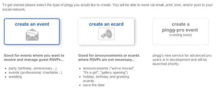 pingg - get started