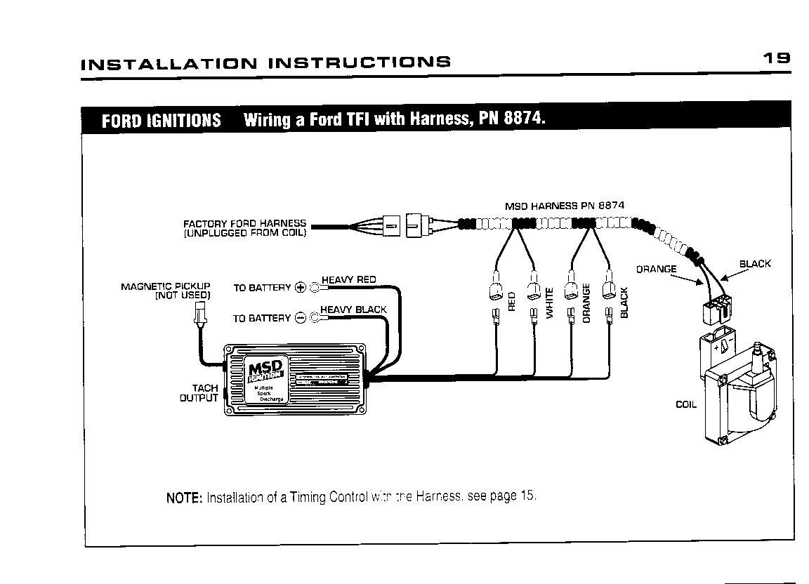 msd 6al wiring diagram mustang 5 0 mefi 3 problem with 6a ignition module 1982 1993