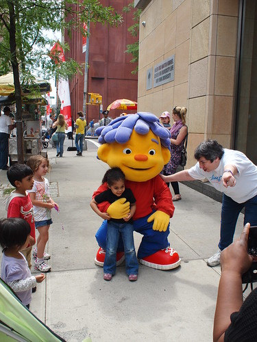 Sid the Science Kid at World Science Festival