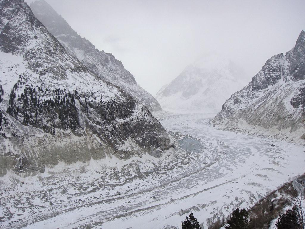Glaciar Mer de Glace