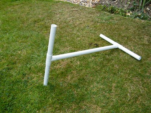 PVC pipe niddy-noddy