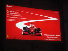 Tata Consultancy Services - Ferrari ad at Hyde...