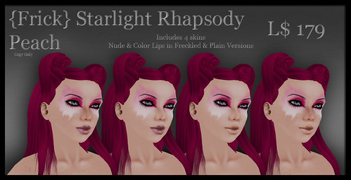 Frick - Starlight Rhapsody - Peach