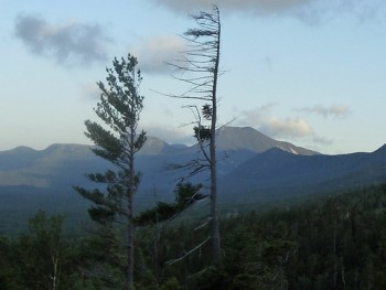 Spectacular view from the Katahdin Hunt Trail.