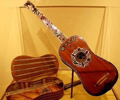 Five-course Guitar by Joachim Tielke.
