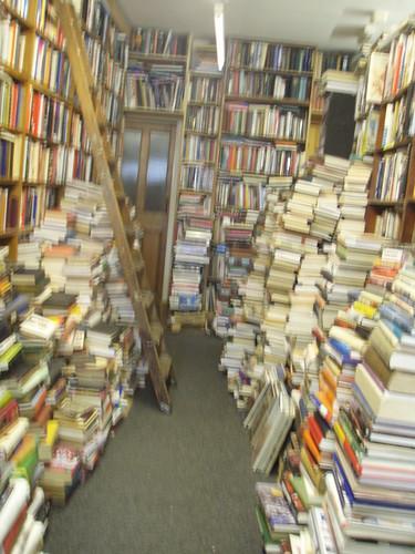 No ones seen the bottom shelf books since 1992.