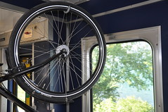 bike on the train