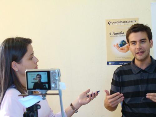 Marcos Vinícius em entrevista