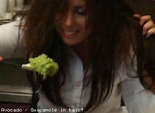 Avocado / Guacamole for hair treatment