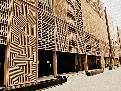 Impressive architecture of The Souk, Central Market, Abu Dhabi