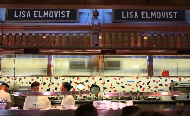 Lisa Elmqvist, Saluhall Stockholm