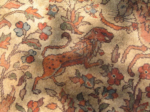 Turkish rug - lion by you.