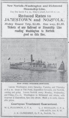 Norfolk-Washington and Richmond Steamship Line