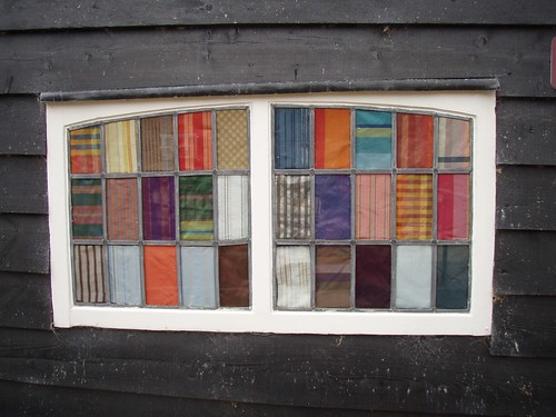 window at Whitchurch Silk Mill