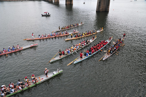 Portland Dragon Boat Guts and Glory Race