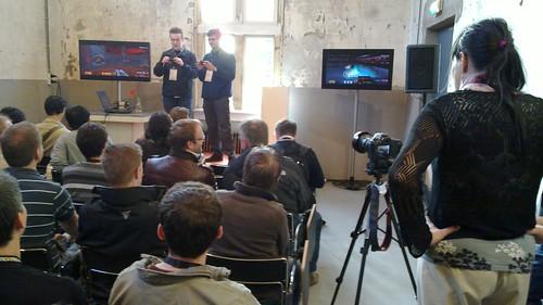 Demo do Quake III no Maemo 5. (foto de qgil, compartilhada via Creative Commons)