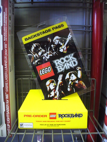 Gamestop LEGO Rock Band Promotion