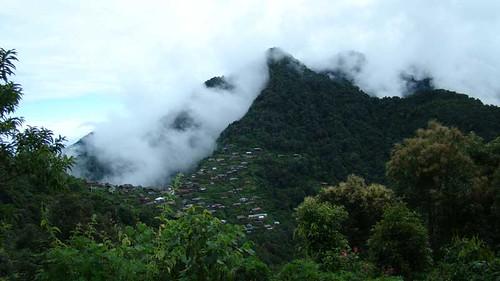 Village Scene, Kohima