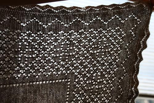 Orenburg warm shawl