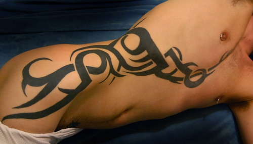 Black Ink Tattoo Tribal
