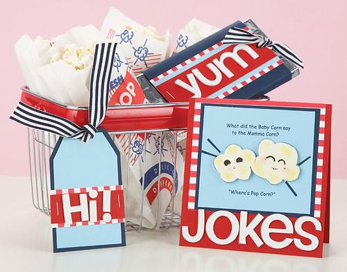 Popcorn Gift Set by Kim Kesti
