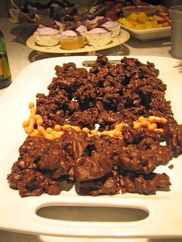 chocolate clusters