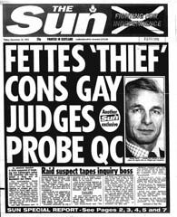 Fettes thief cons gay judges probe The Sun