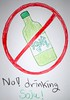 No Drinking Soju