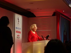 Vera Lynn at the Women of the Year Lunch - I was sat right at the front!