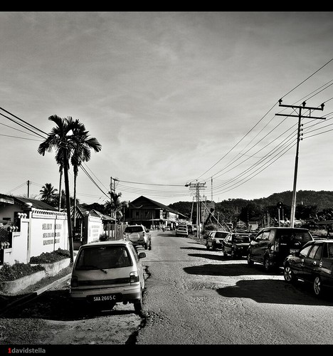 Kinarut town