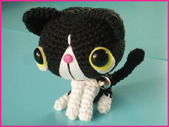 Cute amigurumi mini cat by Essie's handcraft cuteness