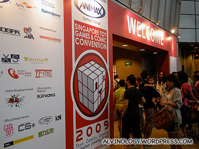 Entrance to the convention