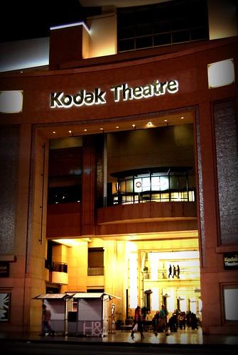 Kodak Theatre by you.