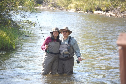 Fishing as a couple