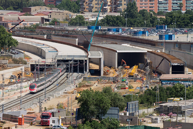 Detalle de los viales en el entorno del Triangle Ferroviari - 25-05-11