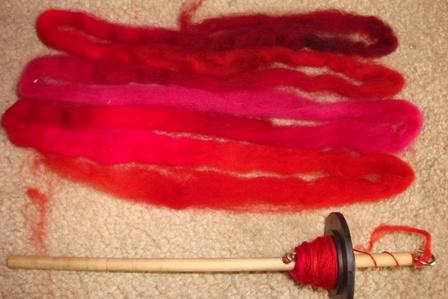 Spin - Crimson Fibre