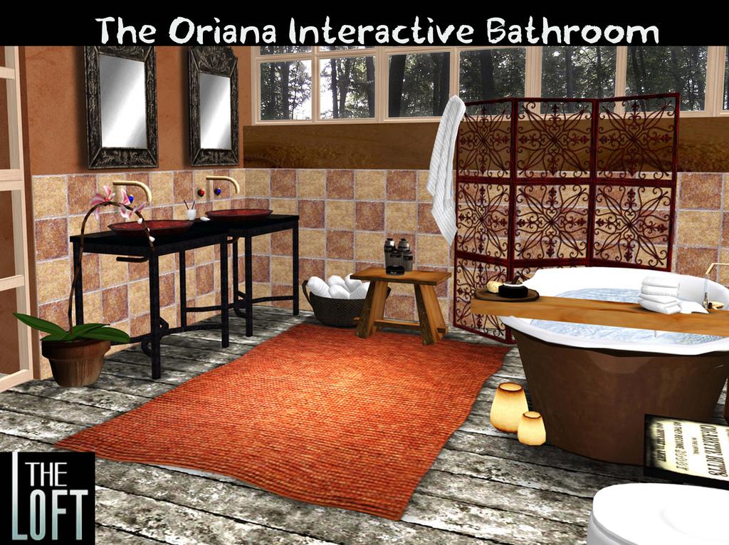 The Oriana Interactive Bathroom