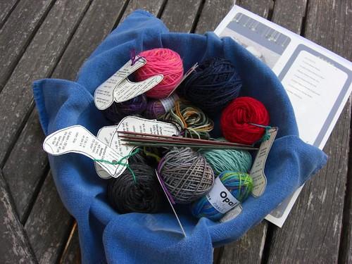Yarn Tasting Swag