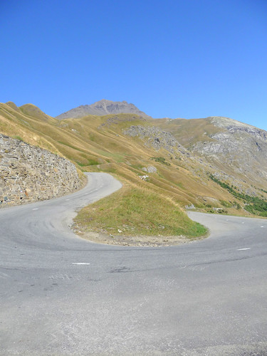 l'Iseran switchback. before it got steep