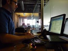 Earth Day, candlelight computing