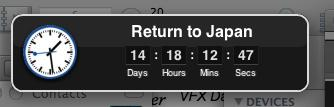 Countdown closeup