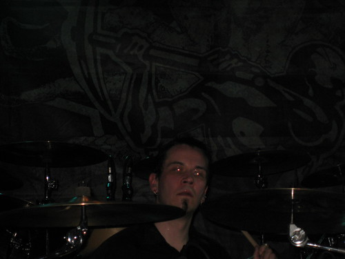 Pasi Pasanen on the drums
